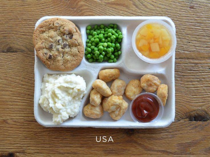 PHOTOS. Contre l'obésité, un tour du monde des repas