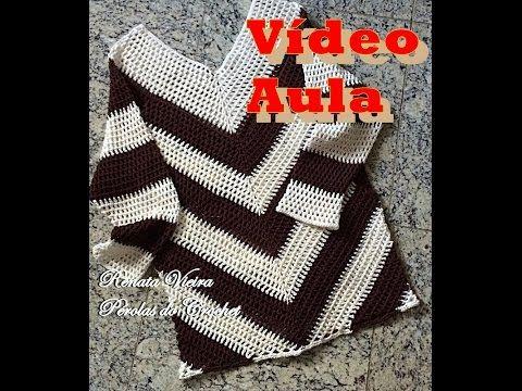 Blusa Maria Flor PARTE 1 - YouTube