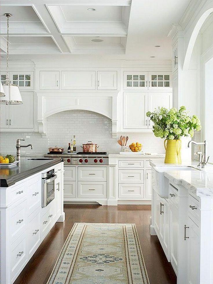 37+ Stunning Kitchen Ideas White Cabinets | White cottage ...