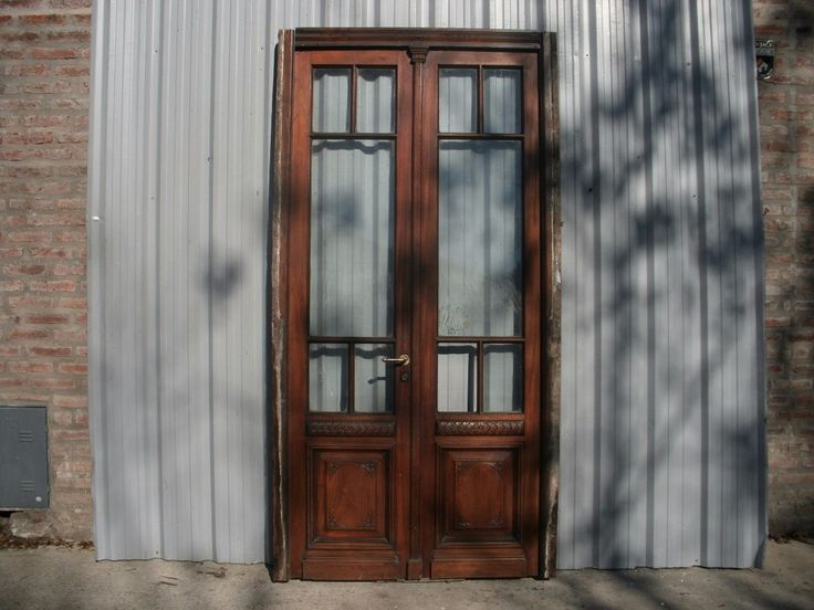 antigua puerta cancel cedro c/tallas