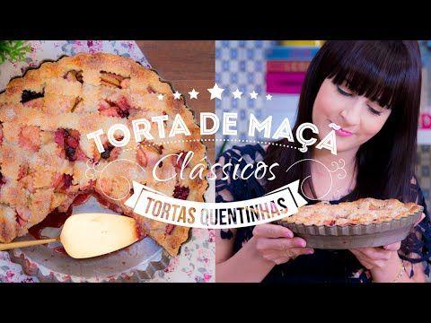 TORTA DE MAÇÃ AMERICANA COM SORVETE CHANTIBON   I Could Kill For Dessert 102 #ICKFD Dani Noce - YouTube