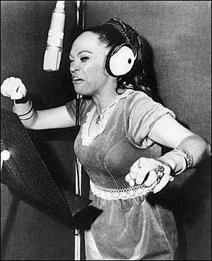 La Lupe- Queen of Latin Soul, later Gospel Songstress  A hurricane turned woman.
