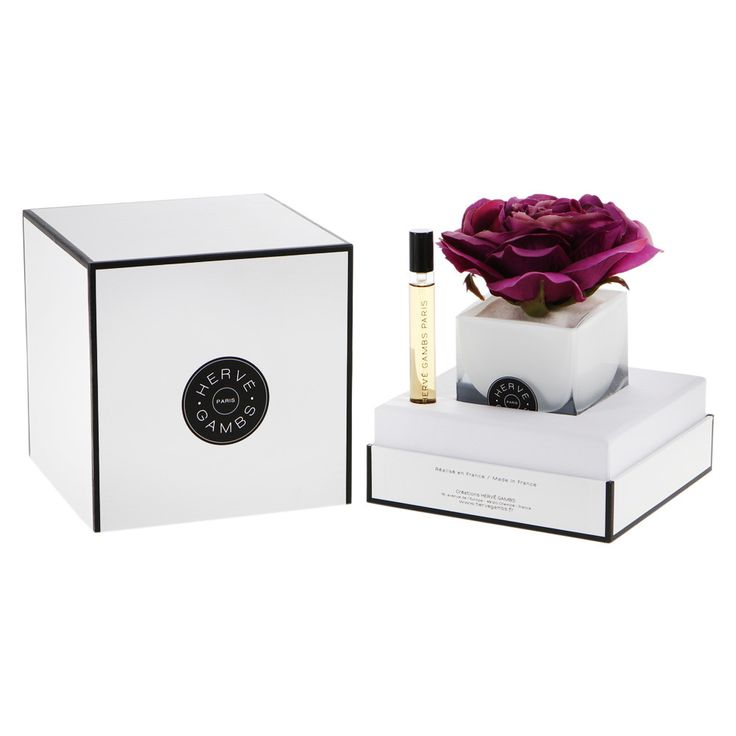 Discover the Herve Gambs Fuchsia Couture Rose Diffuser - Bois De Cashmere - 10ml at Amara