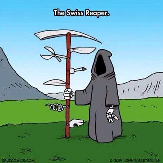 The Swiss Reaper
