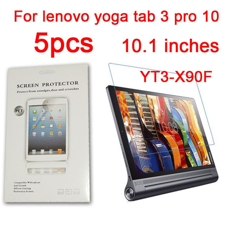 5PCS Glossy Matte Nano anti-Explosion Screen Protector For Lenovo Pro 10 YT3-X90F YOGA Tab 3 Tablet 10.1 Inch Protective Film