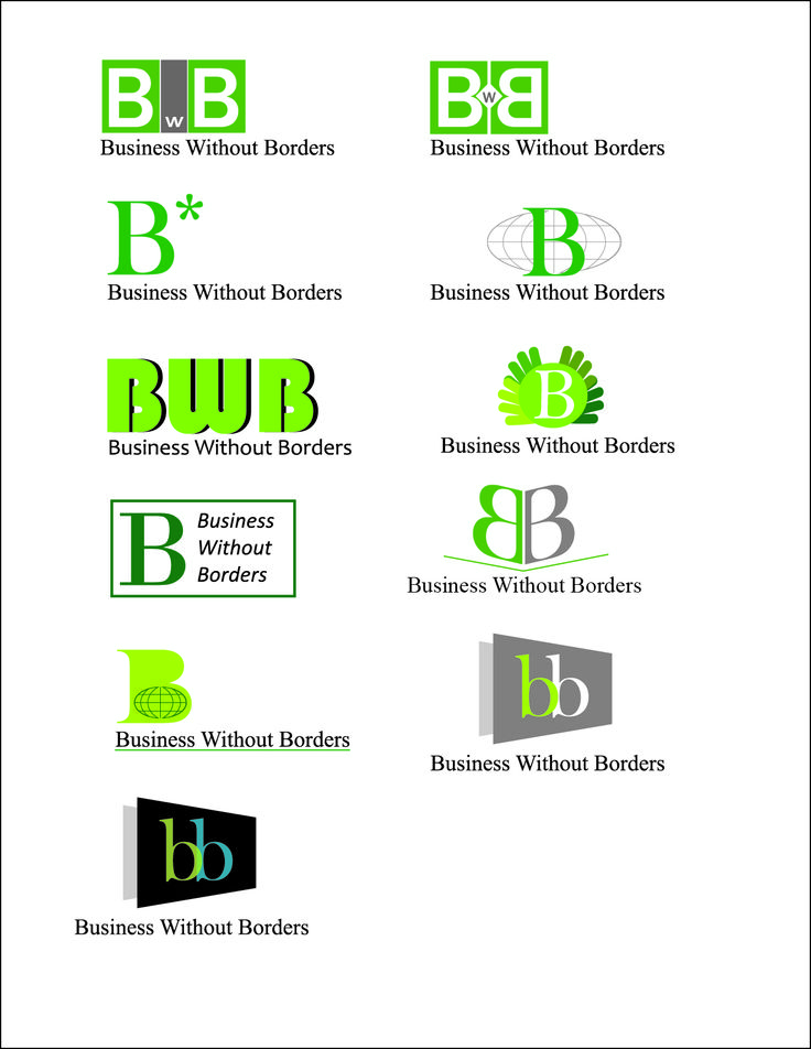 Logo Designs for BwB