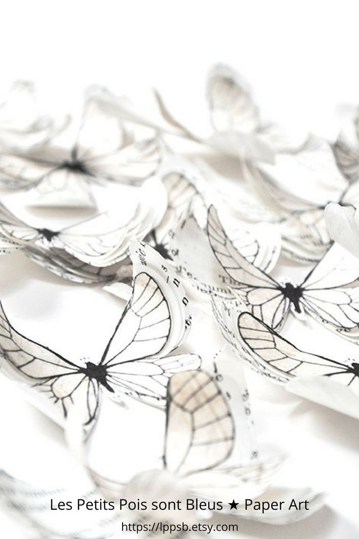 Add a touch of sweetness to your baby shower decorations with these delicate 3d paper butterflies | https://lppsb.etsy.com  @LPPSB #walldecor  #babyshowerdecorations