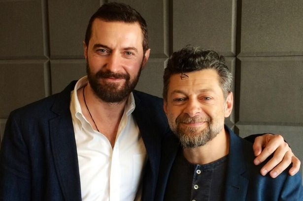 Hobbit stars Andy Serkis and Richard Armitage reunited in Salford - Manchester Evening News