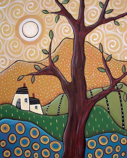 SomeKindOfWonderful1 by karlagerard, via Flickr..her work is beautiful, I believe she sell patterns