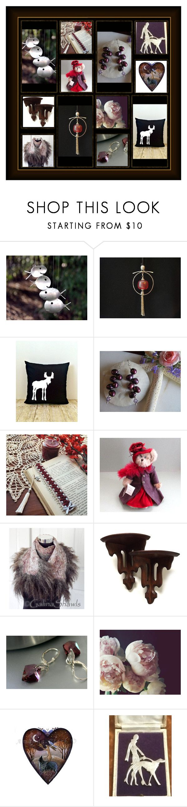 """Mulberry Bush"" by inspiredbyten ❤ liked on Polyvore featuring WALL and vintage"