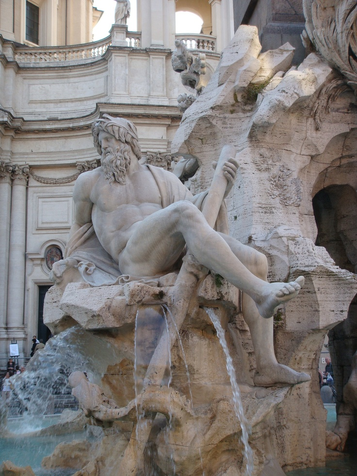 best sculptors italian bernini gian lorenzo images on  four rivers fountain in piazzanavona gian lorenzo bernini also spelled gianlorenzo or giovanni lorenzo