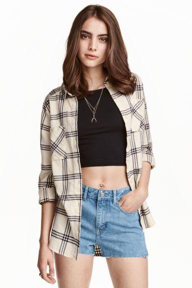 フランネルシャツ | H&M