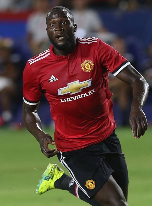 Lukaku in action for his new club