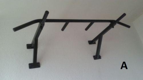 Chin-up Bar Wall Mounted Pull Up Gym Rack Equipment Workout Fitness | Artículos deportivos, Hacer ejercicio, yoga y correr, Entrenamiento de fuerza | eBay!