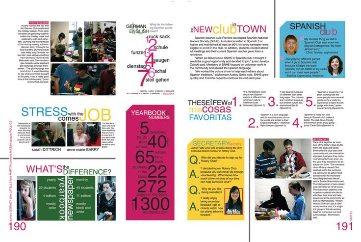 Scattered stories modular yearbook page layout
