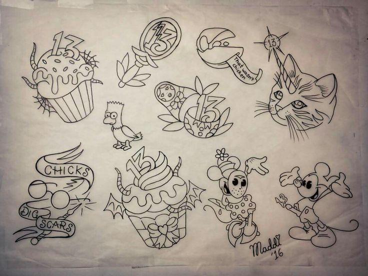 Maddie ward inspirational tattoos animal tattoo flash