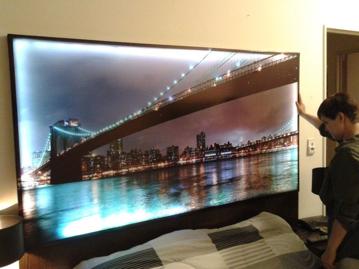 78 best ideas about led leuchtbilder on pinterest pallet desk mediaboards and paletten bar - Iluminacion para cuadros ...