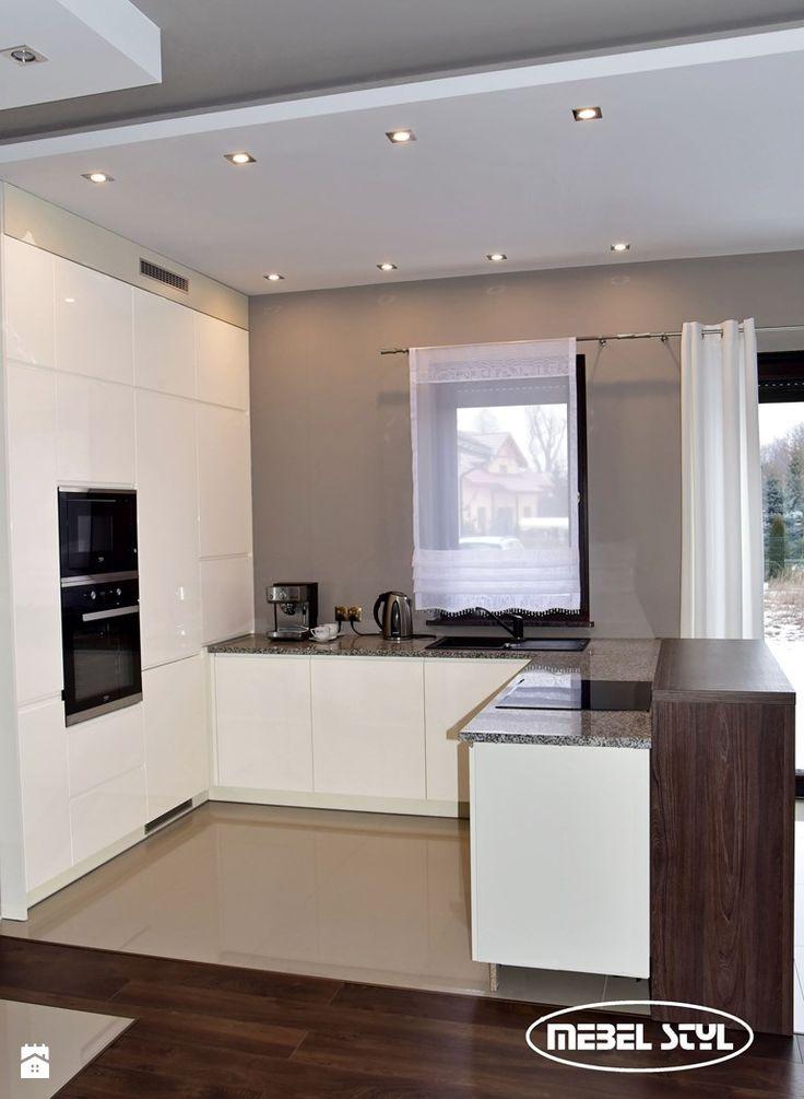 White modern kitchen - zdjęcie od Mebel Styl - Kuchnia - Styl Nowoczesny - Mebel Styl