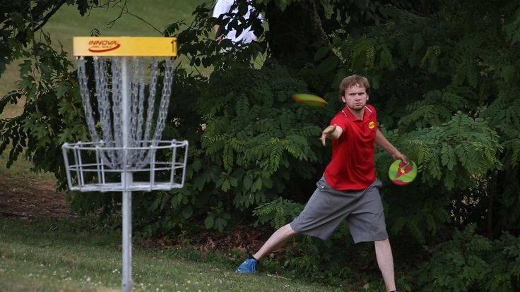 """With only 9 holes remaining, Joey Lutz holds a 3-stroke lead over fellow Chattanoogan James """"Snappy"""" Cole. They're joined on the lead MPO card by Zach Melton, Rodney Goad, Dutch Napier and Tim """"Tic Tac"""" Owston. The action takes place at the Cherokee Disc Golf Course in Morristown, TN. 2nd camera: Carmen McGee. Music: """"Under the Stairs (Instrumental Version)"""" by Josh Woodward () exhibition results: Disc Golf Center: Innova Disc Golf: Prodigy Disc: Towch: Vibram Disc Golf: Bearded"""