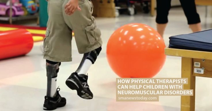 A pediatric physical therapist helps children with SMA to maintain skills they have and to adjust to compensate for muscle weakness.