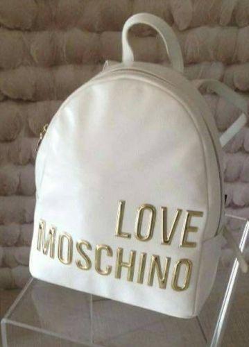 Γυναικείο σακίδιο πλάτης σε λευκό χρώμα γράφοντας Love Moschino  Βρείτε το στο παρακάτω σύνδεσμο: http://handmadecollectionqueens.com/γυναικειο-σακιδιο-πλατης-love-moschino  #fashion #accessories #bag #women #backpack #storiesforqueens #μοδα #γυναικα #αξεσουαρ #τσαντα #σακιδιο