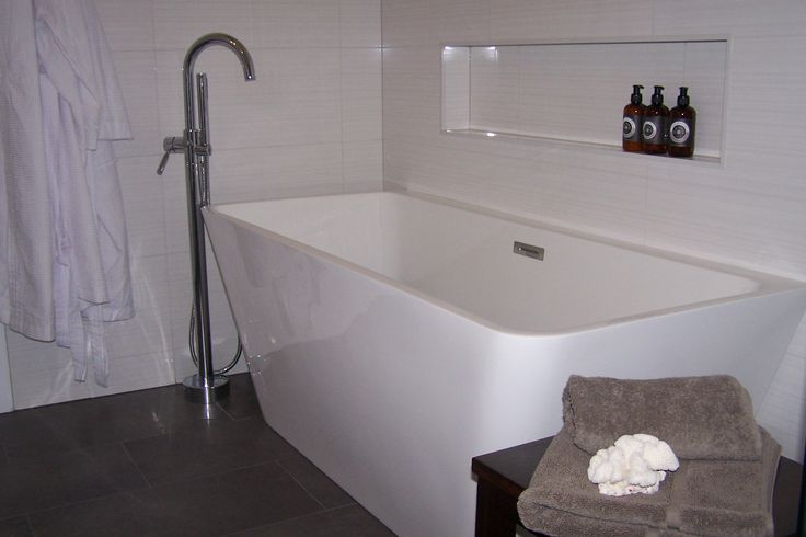 Freestanding Bath in the Main Bathroom