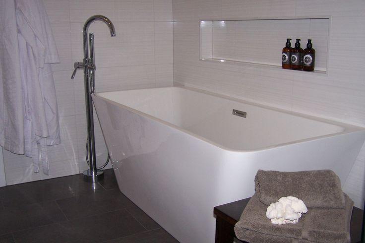 Freestanding Bath in the Main Bathroom