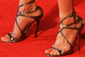 Jennifer Aniston Jimmy Choo | Jennifer Aniston in Jimmy Choo | SHOEPLAY.it