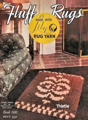Fluff Rugs with charts Vintage Patterns Book for download