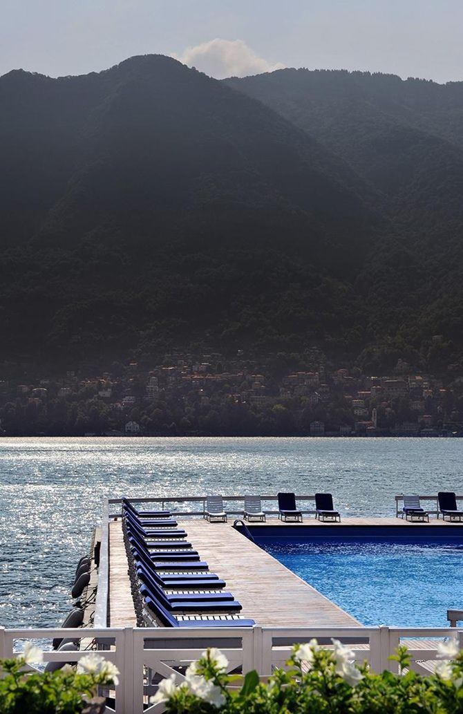 The most beautiful pools in the world | Villa D'Est, Lake Como