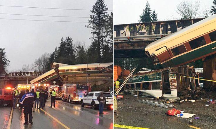 Estados Unidos (EEUU): Al menos tres muertos al descarrilar un tren con vagones Talgo en EEUU. Noticias de Mundo. Un tren de pasajeros descarriló hoy sobre una autopista en el estado de Washington. El accidente ha provocado al menos 3 muertos y más de 70 heridos