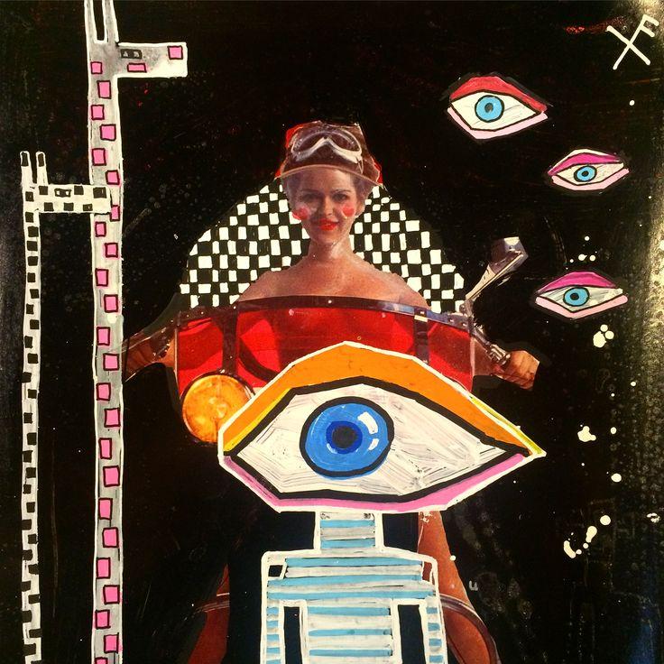 BIG EYE #numbersixtynine#69#vintagemagazine#illustration#lamia#benalycherif#lamiabenalycherif#painting#paint#drawings#draw#drawingonmagazines#magazine#magazines#luimagazine#luimagazinejuin1974#nakid_magazine#nakidmag#freeyoureyes#ozpurple www.numbersixtynine.com