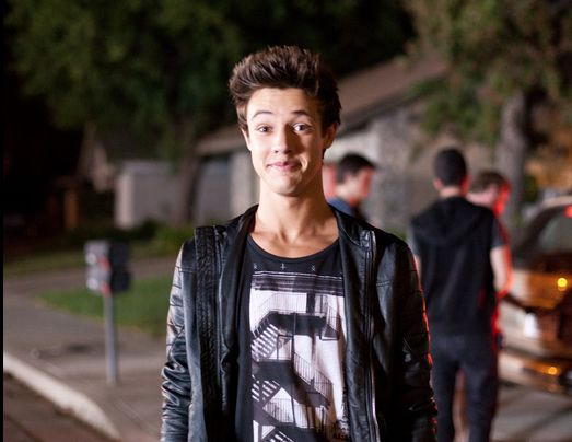 I finally got around to watching Expelled. I must say Cameron Dallas isn't that bad at acting! This movie was seriously so stupid but funny at the same time.