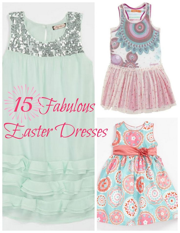 15 of the sweetest Easter dresses for girls | Savvy Sassy Moms  #OnlineShopping  #Shopping  #GirlsFashion