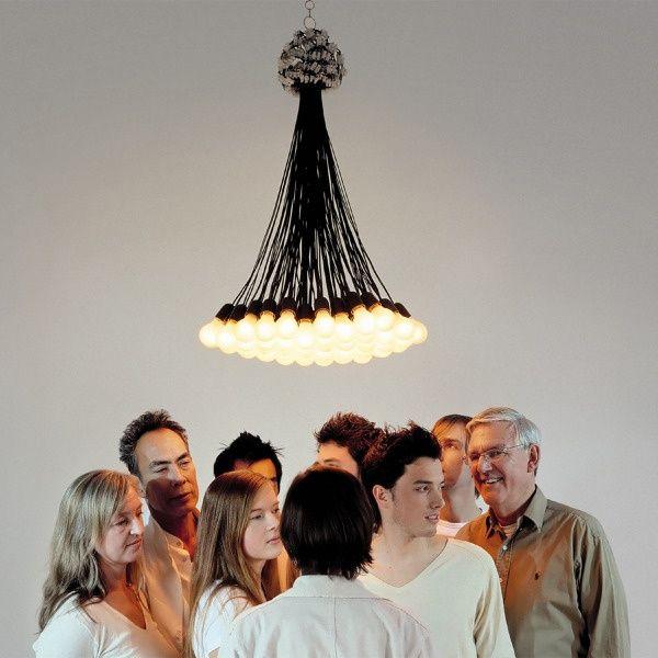 Rodi Graumans 85 Lamp Light Chandelier by Rodi Graumans