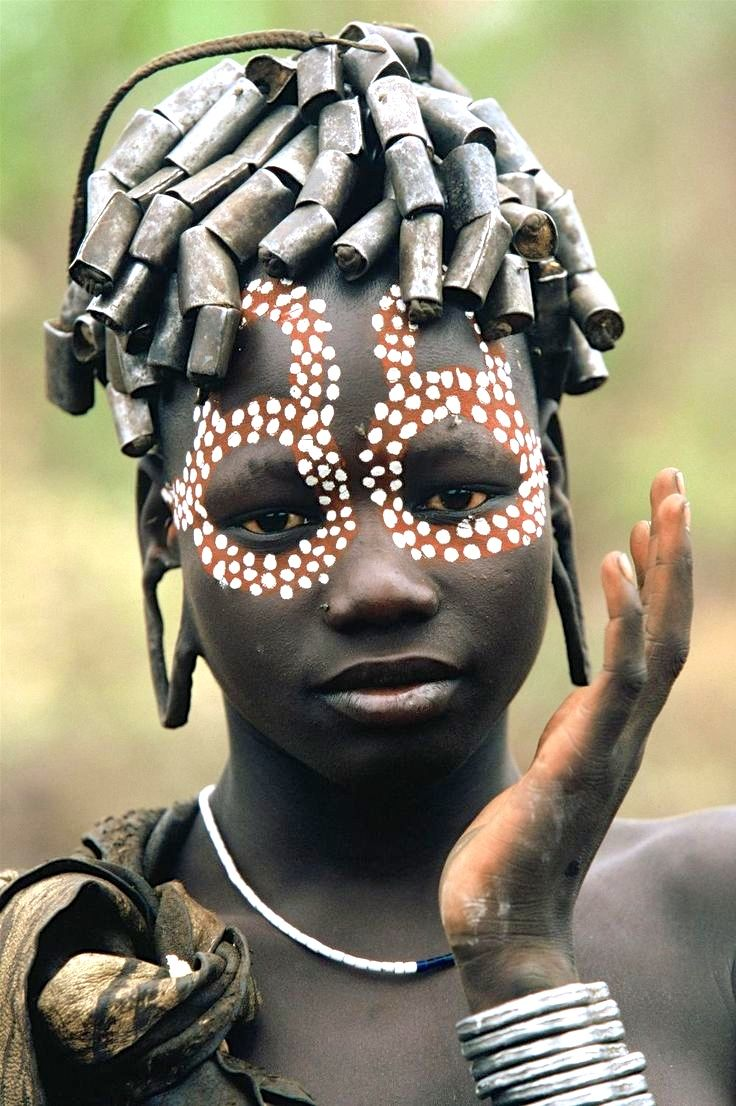 People From The Omo Valley, Ethiopia, Africa, By ©hans Silvester
