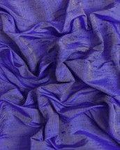 Shot Silk Dupion Fabric - Royal Blue & Silver