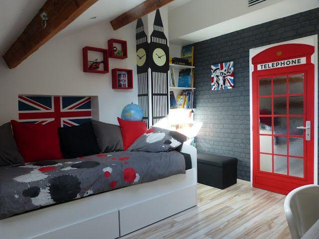 chambre d'adolescent