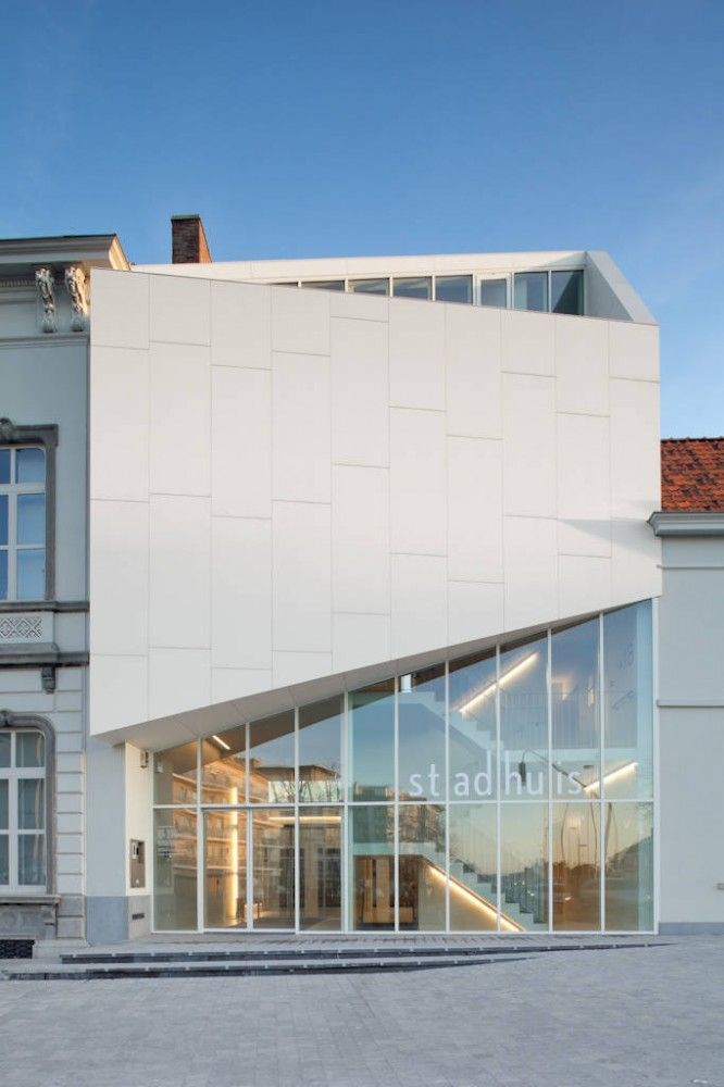 City Hall Harelbeke by Dehullu Architects / Harelbeke, Belgium