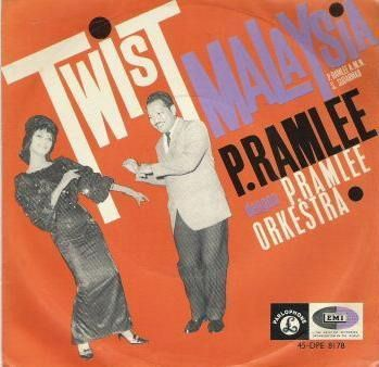 Record Cover - P. Ramlee's Twist