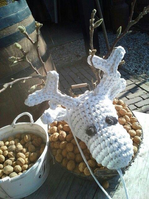 Rudolf is ready. Made bij Peet! Www.leeuw-design.nl