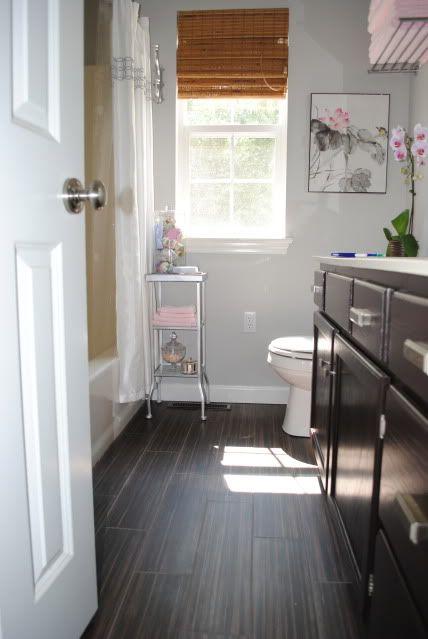 Gray Bathroom With Pops Of Pink PlansMaster BathroomBathroom IdeasNimbus