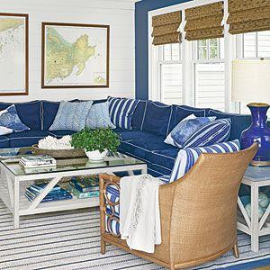 The New Classic Beach House | Classically Nautical | CoastalLiving.com
