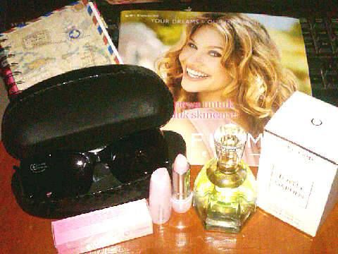 my benefit that I get from Oriflame on August Awesome..Love it so much.. :))
