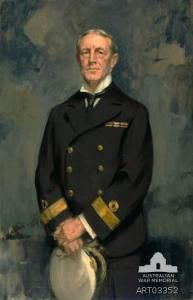 VADM John Collings Taswell Glossop who as a Captain sailed HMAS Sydney (I) into Sydney Harbour in 1913