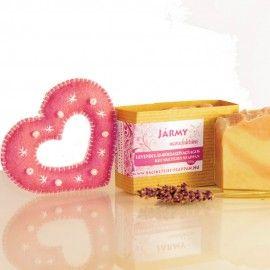 Rózsaszínagyagos levendulás kecsketejes szappan 5