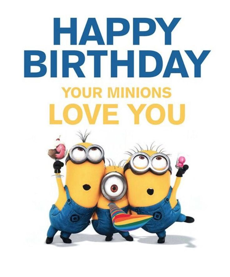 Pin by Tunsu Ileana on fun stuff Happy birthday minions