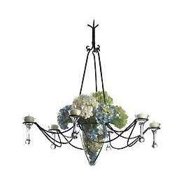 Six Arm Candle Chandelier Photo Home Personality