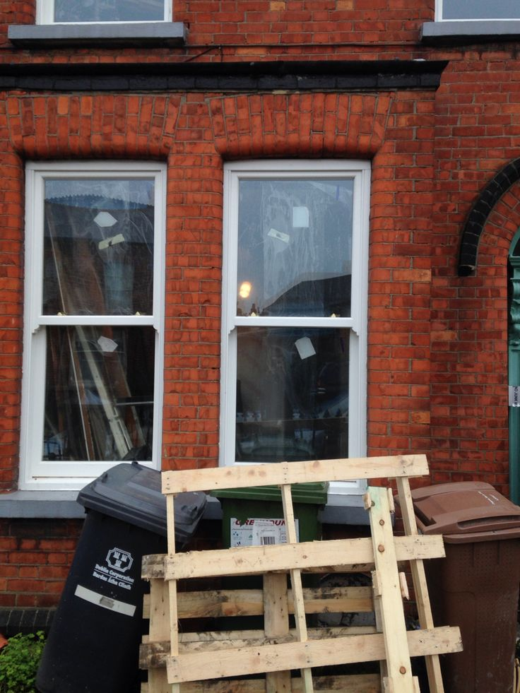 New windows at the front