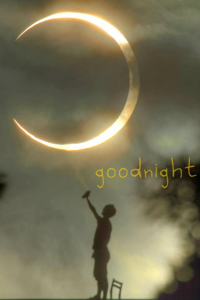 goodnight. A sweet way to say goodnight to your facebook friends :-)
